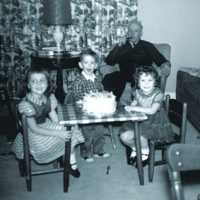 John Schultz birthday party, 1961