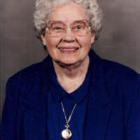 Photograph of Cora Christiansen