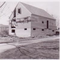 461 Westmorland Blvd, mid-construction, 1951