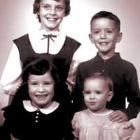 Schultz children, ca. 1962