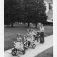 July 4 1957, the Cross children.jpg