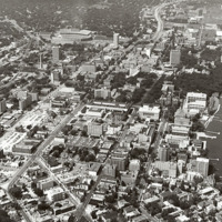 Aerial view of University of Wisconsin-Madison