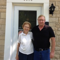 Mary Miller with son Dale 6-28-13.JPG