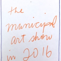 Municipal art show... Municipal Restored, 2018