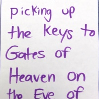 Memory of Gates of Heaven keys, Municipal Restored, 2018