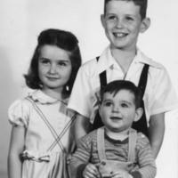 McDowell Children, Donna, Thomas, Bradley (baby). Cir 1948. Two others born after 1950.jpeg